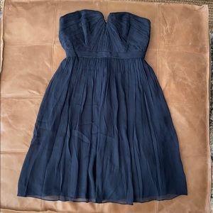 J. Crew Nadia Silk Chiffon Dress